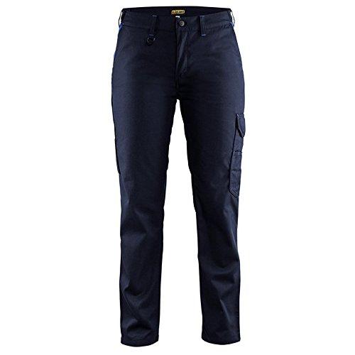 Blakläder Damen Industrie Bundhose Marineblau/Kornblau D19