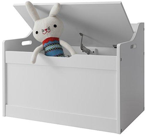 Lola Toy Box in White Toy Storage Organiser Noa & Nani 41hD9hG7cSL