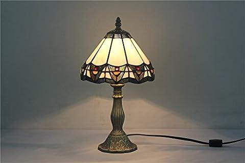 Carl Artbay Tiffany 8-Inch Glass Lamp Minimalist Atmosphere European Table Lamp