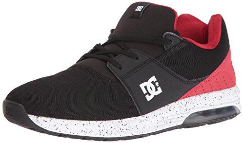 DC, Scarpe da Skateboard uomo Black/Red