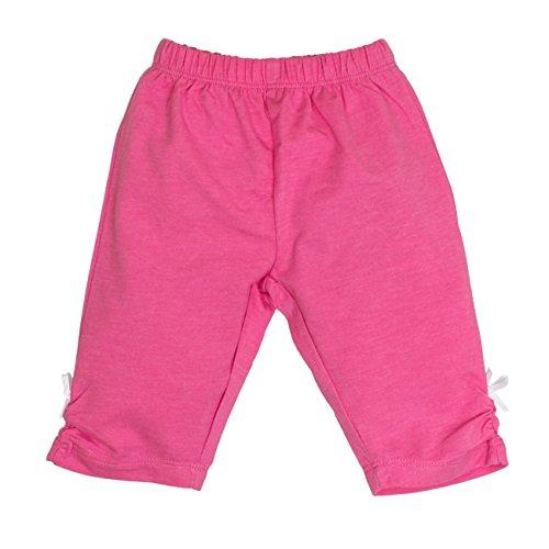 SALT AND PEPPER Baby - Mädchen Shorts B Capri Beach uni 73214216, Einfarbig, Gr. 62, Mehrfarbig (candy 802)