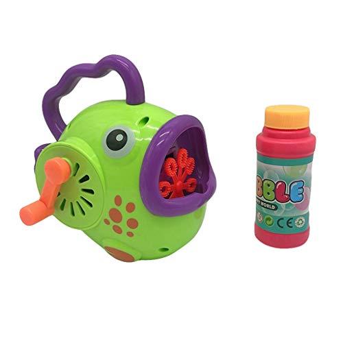 Bubble Machine Toy Manuelles Drehen des kontinuierlichen Goldfisch Bubble Pressing Spielzeug -