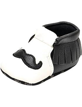 Baby Sneakers, OverDose Neugeborene Mädchen Jungen Krippe Schuhe Soft Sole Anti-Rutsch Baby Sneakers Quasten Schuhe