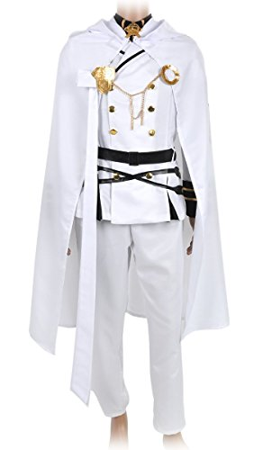 CoolChange Seraph of the End Cosplay Uniform der Vampirsoldaten von Mikaela Hyakuya, Größe: (Mika Kostüm)