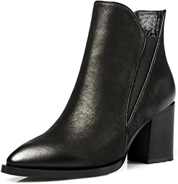 QIN&X  Le Donne del Blocco Punta Breve Caviglia Stivali Scarpe | Numerosi In Varietà  | Uomo/Donna Scarpa