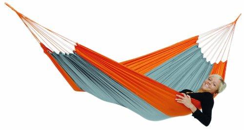 Amazonas AZ-1030160 Silk Traveller techno Hängematte, Belastbarkeit 150kg, Liegefläsche 220 x 140cm