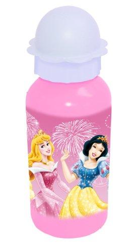 Spearmark Housewares-Princesses Ali Bouteille avec couvercle en forme de fleur,DISNEY,
