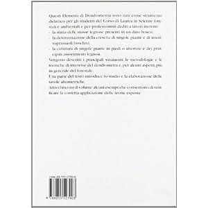 Elementi di dendrometria. Con DVD
