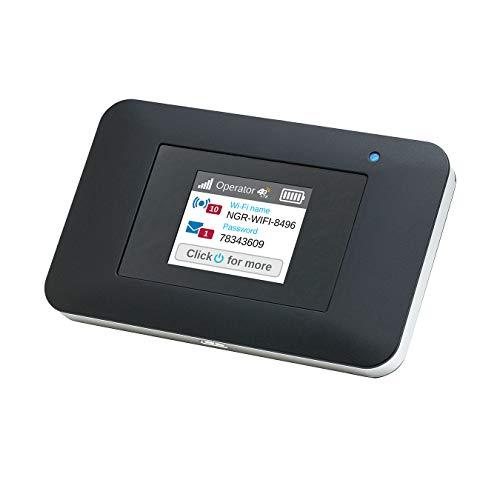 Netgear AirCard Mobiler WLAN Router / 4G LTE Router AC797 (bis zu 400 Mbits/s Download-Geschwindigkeit, Hotspot für bis zu 15 Geräte, WLAN überall einrichten, für jede SIM-Karte freigeschaltet)
