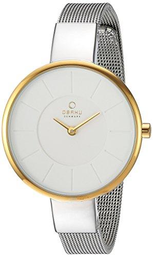 Obaku By Ingersoll V149LXAIMC - Reloj de pulsera Mujer, acero inoxidable, color Plata
