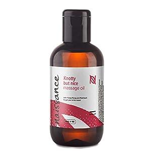 """Naissance """"Knotty but Nice"""" – Sinnliches & Aphrodisisches Massageöl 100 ml 100% natürliche Mischung aus Traubenkernöl und ätherischen Ölen"""