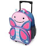 Skip Hop Zoo Luggage, Reisetrolley für Kinder, mit Namensschild, mehrfarbig, Schmetterling Blossom