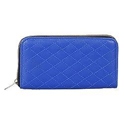 Anekaant Duvet Blue PU Wallet