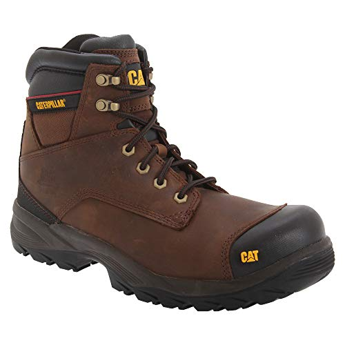 Caterpillar, Scarpe antinfortunistiche uomo, Giallo (Miele), 12 UK