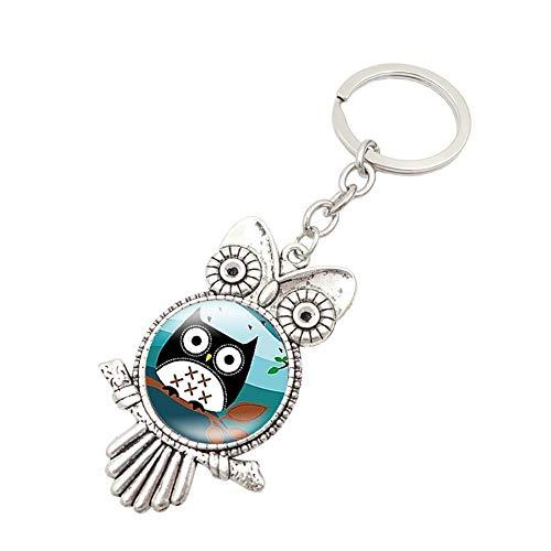 LAAT Schlüsselanhänger Schlüsselring niedliche Schlüssel Anhänger Schlüsselring partneranhänger Reizendes Tier Schlüsselbänder Freunde (Für Schlüsselbänder Schlüssel Niedliche)