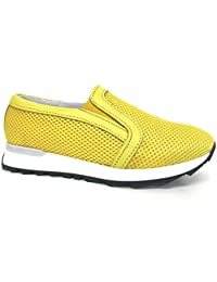 topschuhe24 Zapatillas Para Mujer, Color Blanco, Talla 37 EU