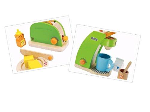 Frühstücks-Set: Kaffeemaschine und Toaster von Hape