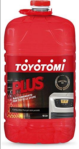 Toyotomi 2828417 Plus, Combustibile Universale per Stufe Portatili, Rosso, 10 litri