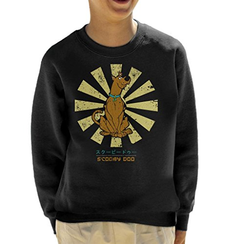 Scooby DOO Retro Japanese Kid's Sweatshirt