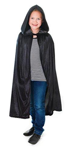 Kostüm Harry Potter Schuhe - Bristol Novelty CC175 Cape aus Samt mit Kapuze