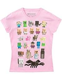 Minecraft Mädchen T-Shirt