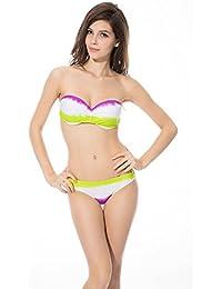 SZIVYSHI Femme 2 Pièces Maillot de Bain Bikini