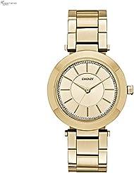 DKNY Damen-Armbanduhr Digital Quarz Edelstahl NY2286