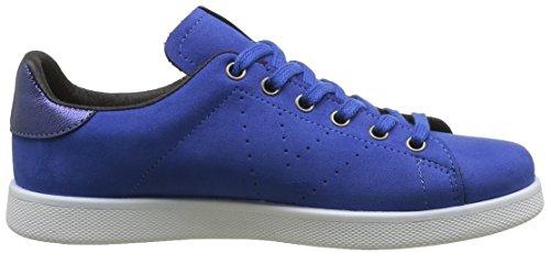 Victoria 125554, Baskets Basses Femme Bleu (Azul)