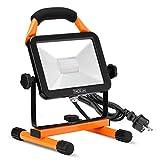 TACKLIFE TACKLIFE LED Baustrahler, 30W 2430LM Arbeitsleuchte Arbeitsscheinwerfer für Arbeitsbeleuchtung mit IP65 Wasserdicht, gehärtetem Glas