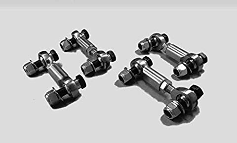 Steinjger 1997-2004 Corvette End Links For Front and Rear Sway Bars PTFE Rod Ends C5 by Steinjager
