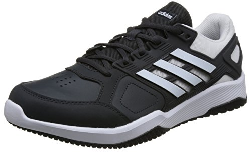 adidas Herren Duramo 8 Trainer Gymnastikschuhe Grau (Carbon S18/ftwr White/core Black) 44 2/3 EU