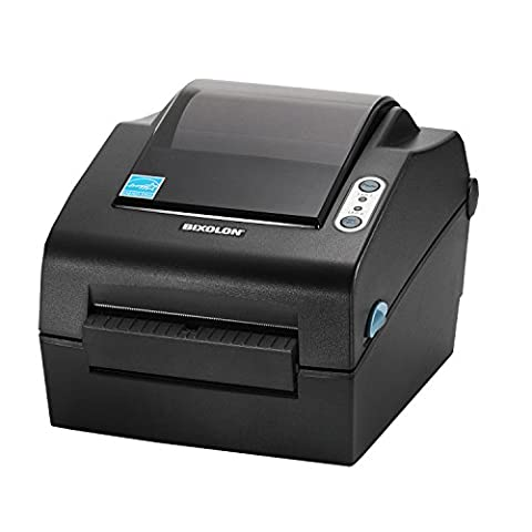 Bixolon SLP-DX420G Direct Thermal 203 DPI Desktop Label Printer with Serial, Parallel and USB Interface - Grey