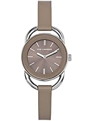 Montre Femme Ted Lapidus cuir taupe - Urban Chic - A0681IGII -