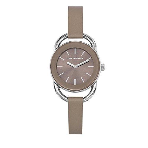 ted-lapidus-orologio-da-donna-colore-pelle-color-talpa-a0681igii-urban-chic