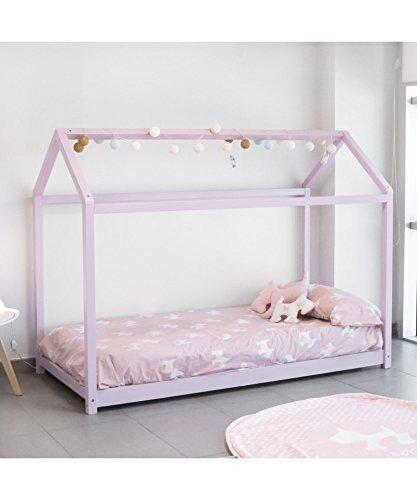 DISTRIMOBEL Cama Montessori Color Rosa