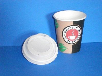 Kaffeebecher Coffee to go 300ml mit Deckel 100 Stück