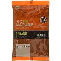 Pro Naturaleza 100% orgánico chile rojo en polvo (caliente) 100g