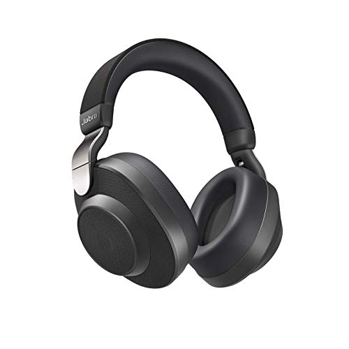 Jabra Elite 85h Bluetooth Over Ear Headphones with ANC and SmartSound Technology, Alexa Built-In, Titanium Black