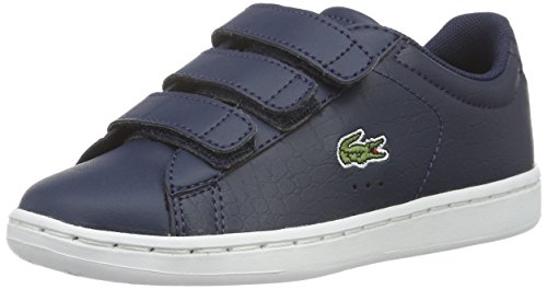 Lacoste Carnaby Evo G316 2, Sneakers basses mixte enfant Blau (NVY/NVY 95K)