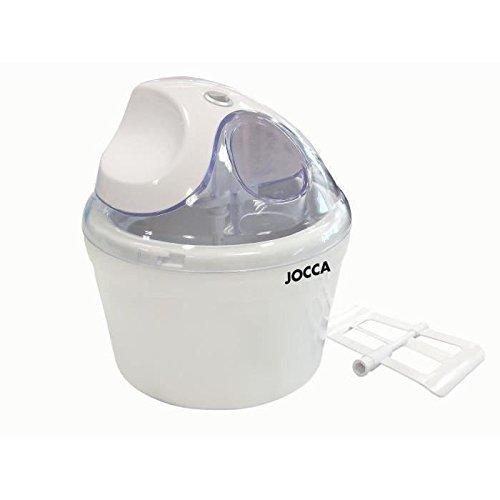Jocca 5483 - Máquina para hacer helados, 1.4 L, color blanco