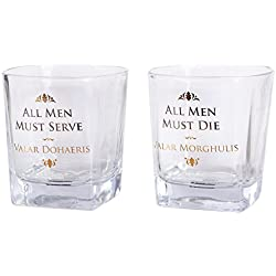 Game Of Thrones Set de 2 Vasos Juego de Tronos 200 ML, 1