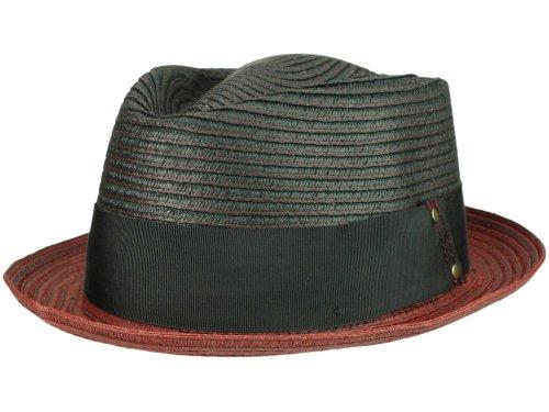 Bigalli Chapeau Trilby Detroit Homme - rouge