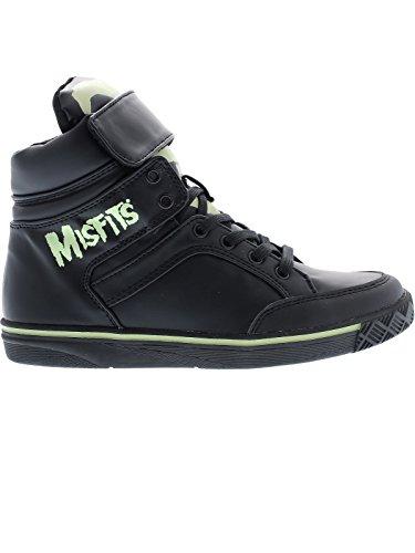 Iron Fist Misfits Glow des femmes dans le Sneakers noir Black