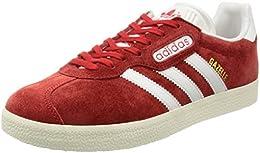 gazelle rosse adidas uomo