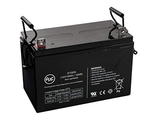 Batterie Universal Power 12 Volt 100ah UB-30H Gel Wheelchair Mobility 12V 100Ah Fauteuil Roulant - Ce Produit est Un Article de Remplacement de la Marque AJC®