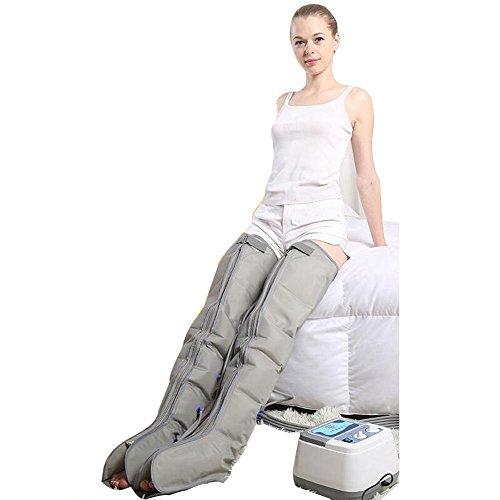 Wei-d Aufsteigen vollautomatische Gradienten 6 Kammer Kreislauf Luft Welle Druck Physiotherapie Senioren pneumatische Beine Massager Automatik zu Fuß Massage Instrument , Leg (Bein-luft Massager)
