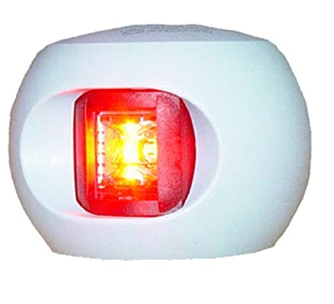 Aqua Signal 12-Volt White Housing LED Port 2 Mile Side