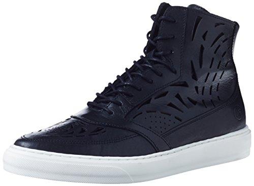 Bronx - Bmecx, Sneaker alte Donna Nero (Nero (01 black))