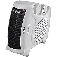 Warmlite WL44001 Fan Heater, 2 Heat Settings, 2000 W, White/Black