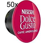 50x Nescafe Dolce Gusto Coffee cápsulas–50x americano cápsulas